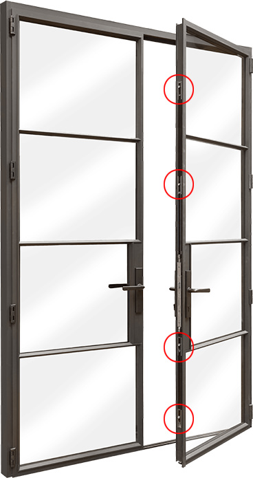 Multi-point Door Locking