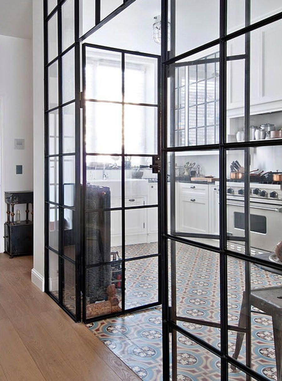 Glass doors and dividers